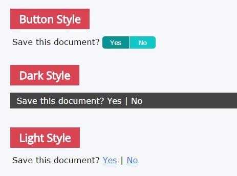 Lightweight Inline Confirmation Plugin For jQuery - Inline Affirm