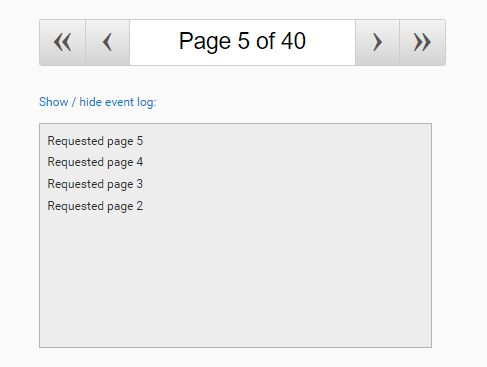 Lightweight Interactive Pagination Plugin With jQuery - jqPagination