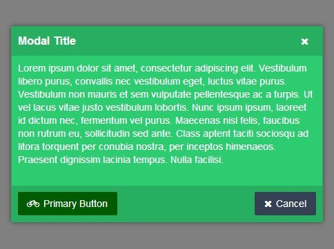 Lightweight Modal Dialog Plugin For jQuery - quickModal