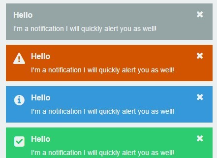 Lightweight Multipurpose jQuery Notification Plugin - Notify