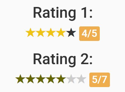 Lightweight Star Rating Plugin With jQuery And Glyphicons - J-Rating