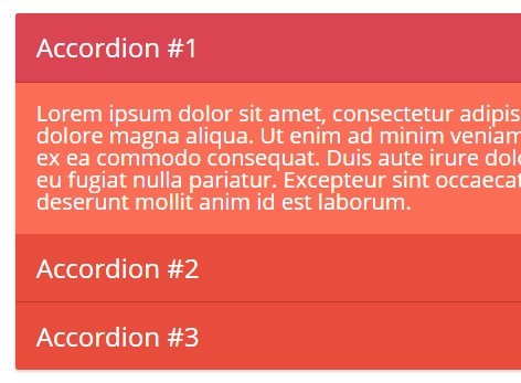 Lightweight jQuery Accordion / Toggle Control Plugin - rjAccordion