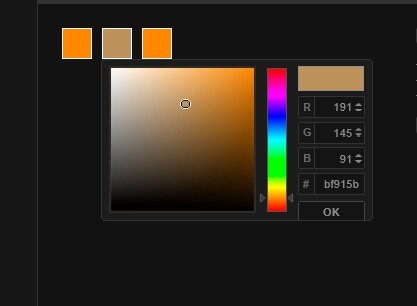 Lightweight jQuery Color Picker For Web App - Colpick Color Picker