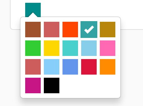 Lightweight jQuery Color Picker Plugin For Bootstrap - Colorselector