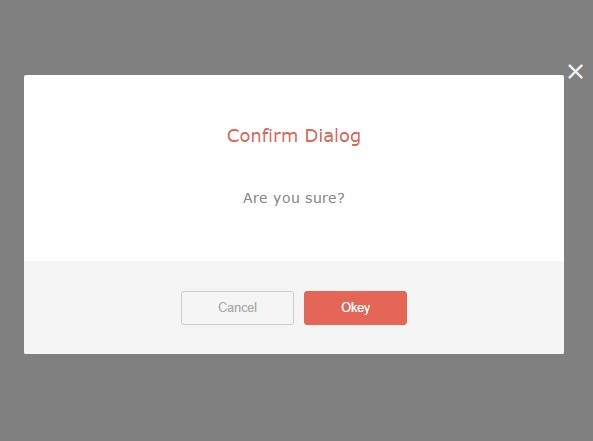 Lightweight jQuery Confirm Dialog Plugin - Confirm Action