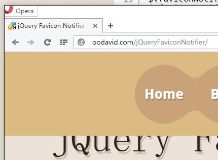 Lightweight jQuery Plugin For Manipulating Favicon - Favicon Notifier