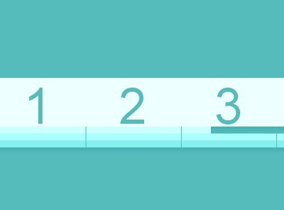 Line Based Clock with jQuery and CSS3 Transitions