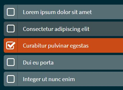 Easy List Selection With Checkboxes - jQuery simsCheckbox