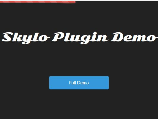 Minimal Top Loading Bar Plugin For Bootstrap - skylo