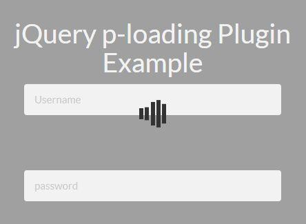 Responsive Custom Loading Overlay/Mask Plugin - jQuery p-loading