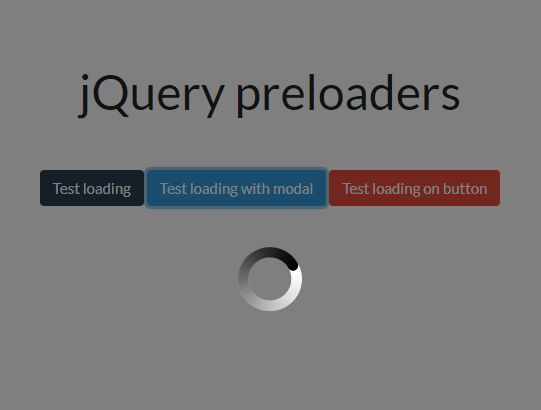 Custom Loading Spinner With Sprite Animations - jQuery Preloaders.js