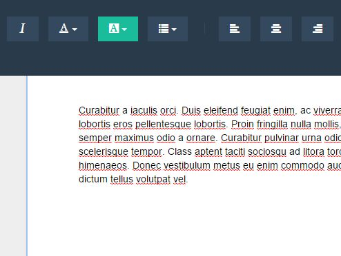 MS Word Style WYSIWYG Editor with jQuery and Bootstrap - A4 WYSIWYG Editor
