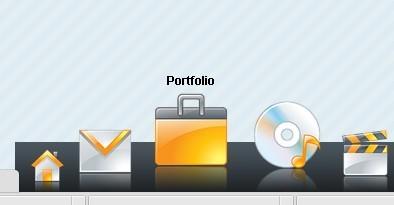 Mac-Like CSS Dock Menu with jQuery