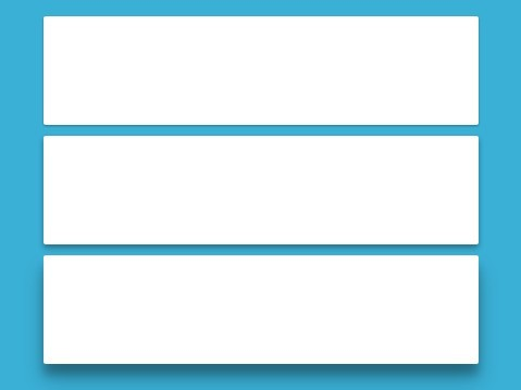 Material Card Split & Join Interaction with CSS3 and jQuery