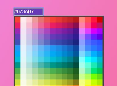 Material Design Color Picker With jQuery
