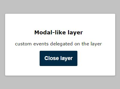 Minimal Clean jQuery Modal & Dialog Plugin - tinyLayer