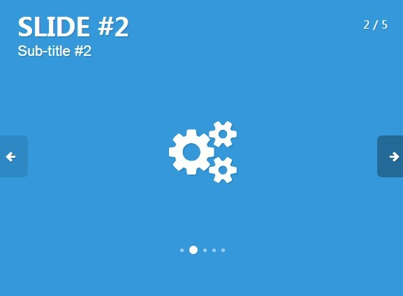 Minimal Content Carousel Slider Plugin with jQuery and CSS3