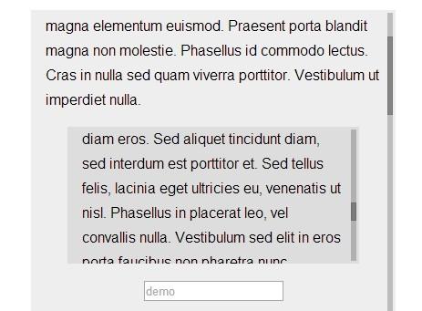 Minimal Custom Scrollbar Plugin For jQuery - mintScrollbar