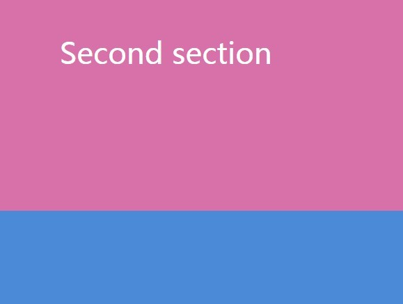 Minimal Full Screen Vertical Slider with jQuery - Scroll On Scroll