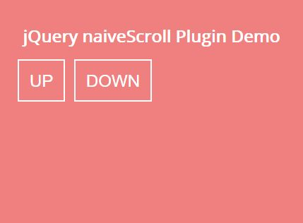 Minimal Full Window Page Scrolling Plugin With jQuery - naiveScroll