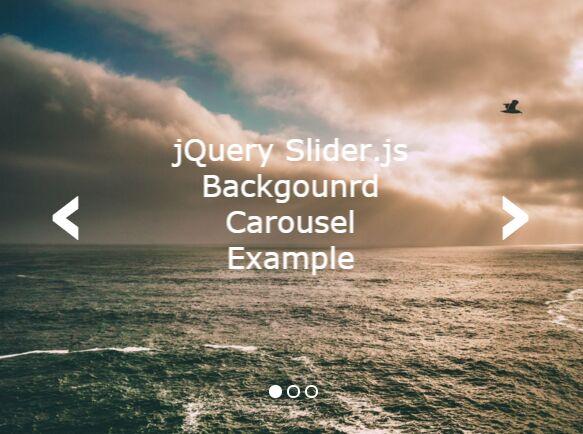 Minimal Fullscreen Responsive Carousel Plugin With jQuery