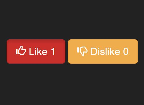 Minimal Like / Dislike Button Plugin with jQuery - like-dislike