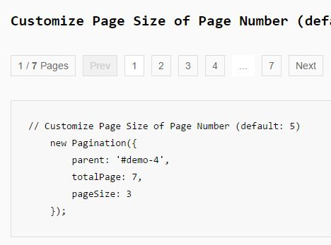 Minimal Clean Pagination Plugin For jQuery - Pagination.js
