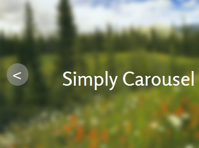 Minimal Responsive Image Carousel/Slider Plugin With jQuery - Simply Carousel