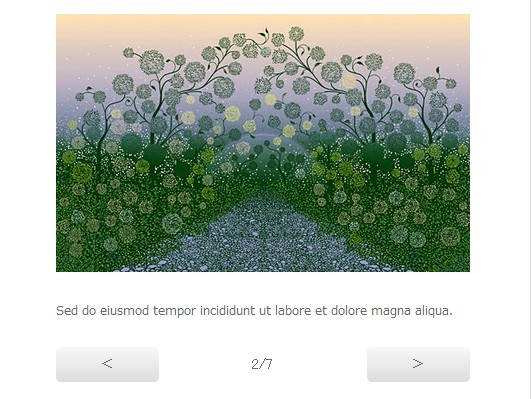 Minimal Responsive Image Slider with jQuery and CSS3 - CSS3 Gallery