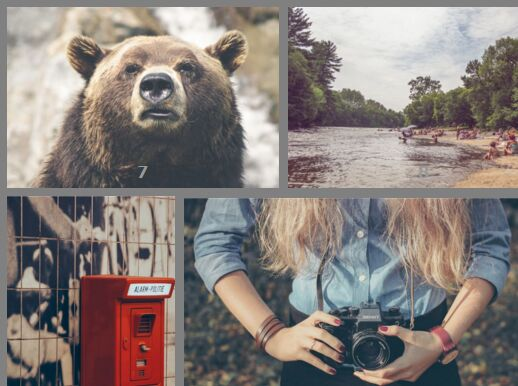 Minimal Responsive Photo Gallery Plugin For jQuery - xGallerify