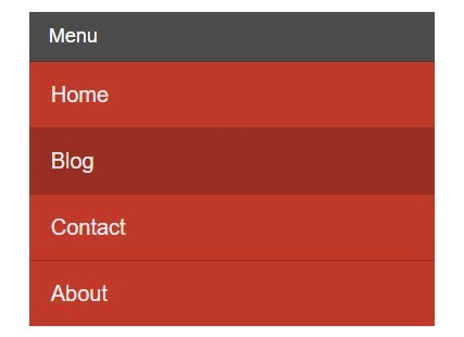 Minimal Responsive Sliding Menu with jQuery and CSS3