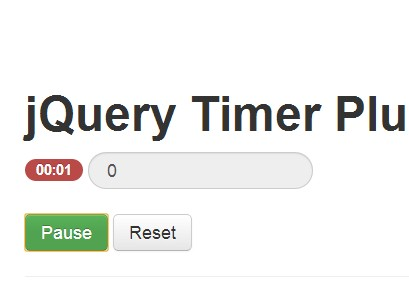 Minimal Stopwatch & Timer Plugin For jQuery