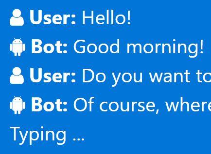 Minimal jQuery Based Chat Simulator - FakeChatBot