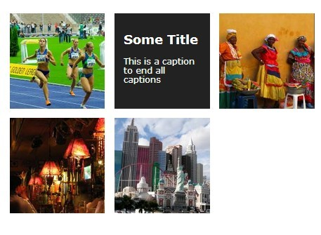 Minimal jQuery Image Grid with Hover Caption Support - hoverGrid