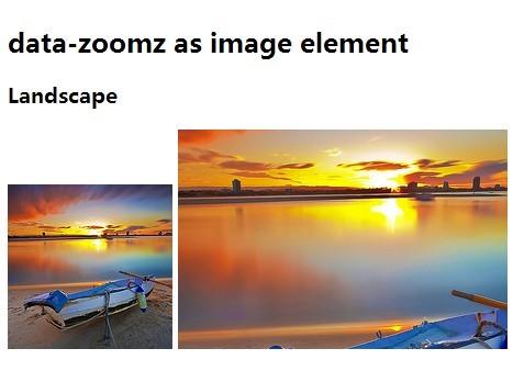 Minimal jQuery Image Magnifier & Zoom Plugin - zoomz