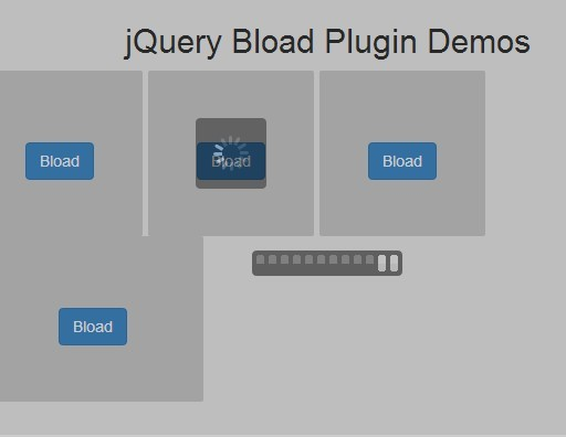 Minimal jQuery Loading Animation Plugin - Bload