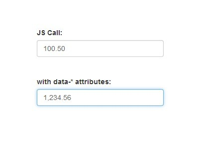 Minimal jQuery Price Input Format Plugin - Price Format