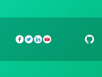 Minimal jQuery Social Share Button Plugin For jQuery - Sharetastic