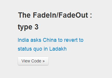 Minimal jquery text rotator with fade animations news - Jquery rotate div ...