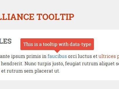 Minimal jQuery Tooltip Plugin - Globalliance Tooltip