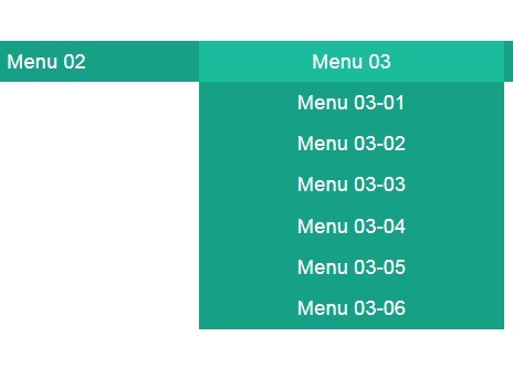 Minimalist Pull Down Nav Menu with jQuery and CSS