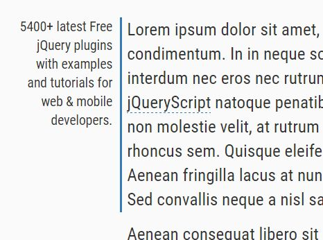 Minimalist Side Note Plugin For jQuery - Marginotes