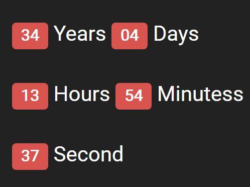 Minimalist jQuery Countdown Timer Plugin - countdown.js