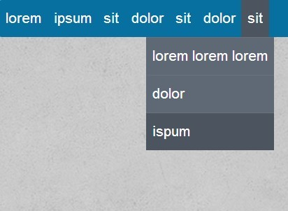 Minimalist jQuery Drop Down Menu Plugin - jVanilla