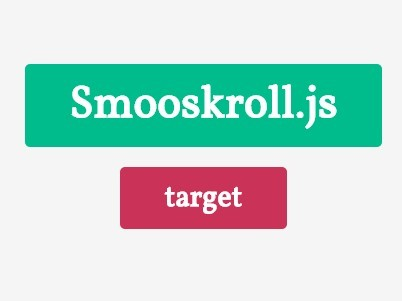 Minimalist jQuery Smooth Scroll To Plugin - Smooskroll