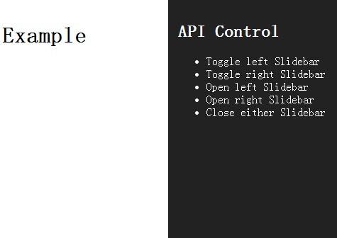 Mobile App-Style Toggle Menu/Sidebar Plugin For jQuery - Slidebars