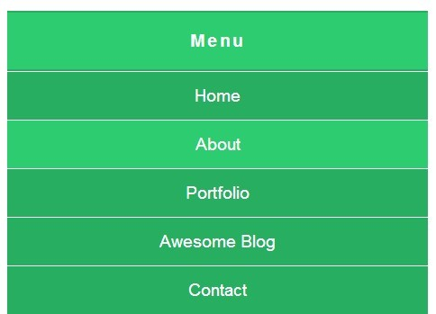 Mobile-Aware Responsive Dropdown Menu with jQuery - simpleMobileMenu