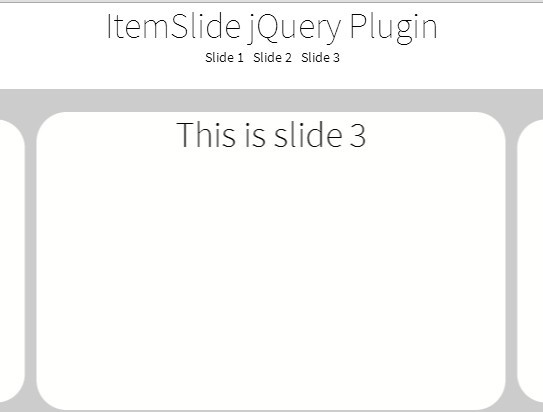 Mobile First Content Slider with jQuery and Hammer js - ItemSlide js