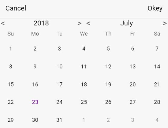 Mobile-first Date Picker Component - jQuery timePicker.js