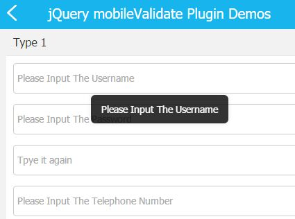 Mobile First Form Validation Plugin With jQuery - mobileValidate ...
